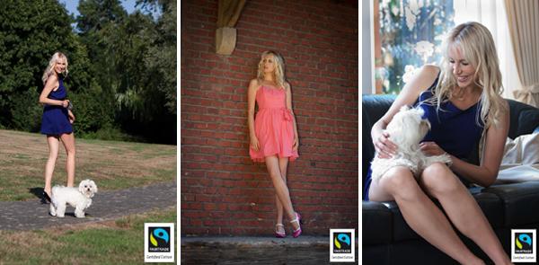 Elischebas Fashion Shooting für Fairtrade