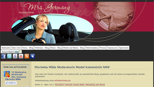 Elischebas MrsGermany Website