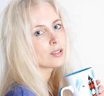 Elischeba mit Teetasse