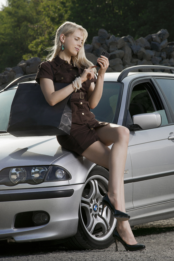 Elischeba Wilde - LifeStyle Shooting (Shopping | BMW)