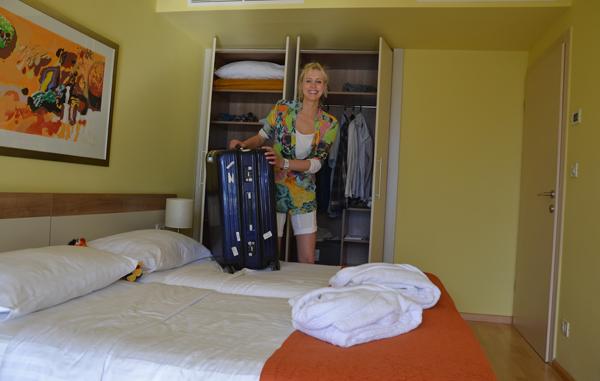 koffer auspacken losinj