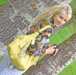 gelbe Tasche Kamera Elischeba