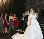 Backstage Foto aus der Lena Hoschek Show