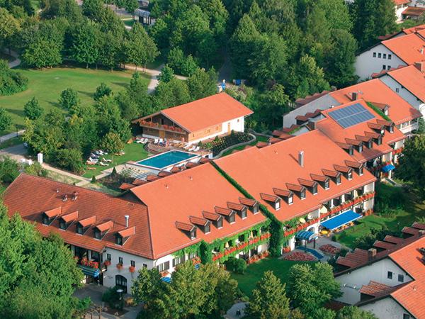 Hotel-Luftaufnahme