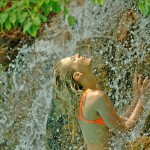 Elischeba am Wasserfall