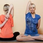 model yoga