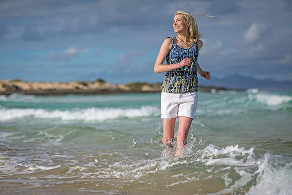 Elischeba durchs Meer laufen