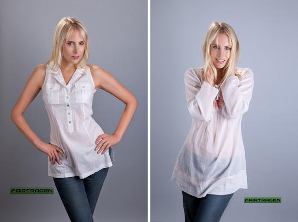 Elischebas Fashion Shooting für Fairtragen