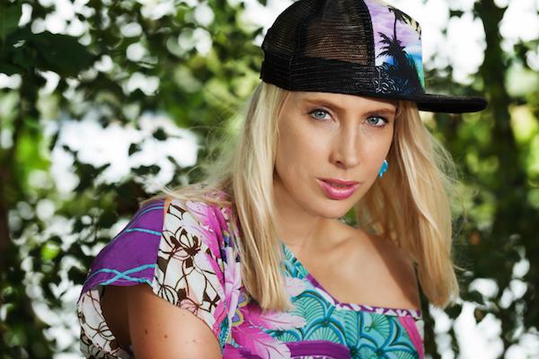 Portrait Fotomodel blond