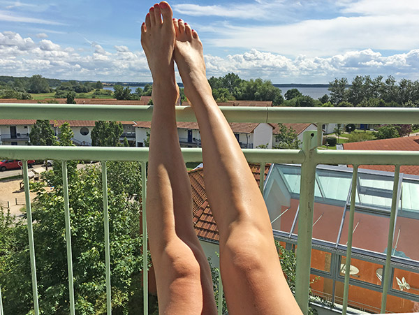 Elischebas Beine