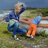 Haare im Wind Dänemark