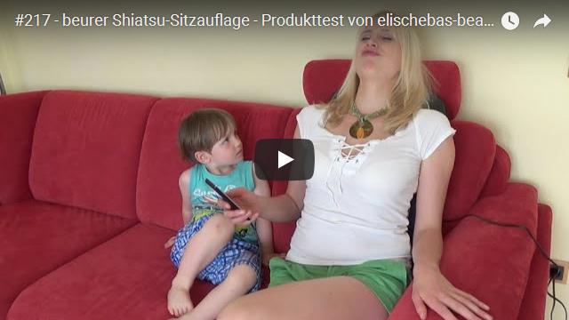 ElischebaTV_217_640x360 beurer Shiatsu Sitzauflage Produkttest
