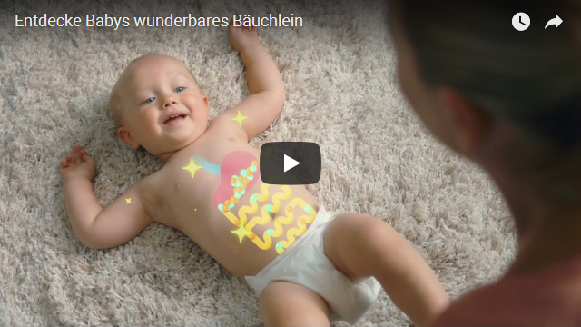 entdecke Babys wunderbares Bäuchlein Werbung Milupa