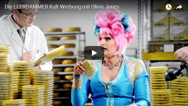 LEERDAMMER Kult-Werbung mit Olivia Jones