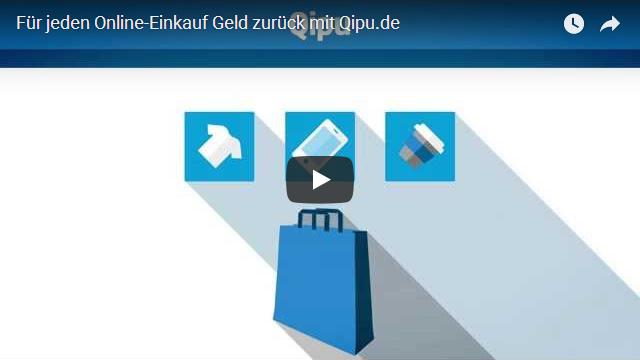 Geld zurück mit Qipu Werbung
