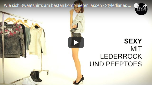 Sweatshirts kombinieren Stylediaries OTTO