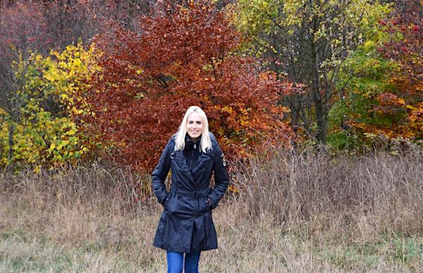 Herbstmode Winterjacke