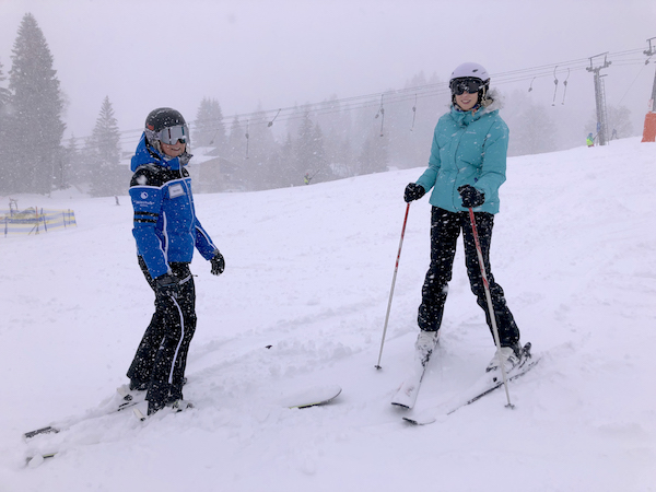 Skifahren lernen Bödele Kurs